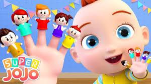 JoJo và gia đình ngón tay | The Finger Family | Bài hát tiếng anh vui nhộn  | Super JoJo - Nhạc thiếu nhi mới nhất. - #1 Xem lời bài hát