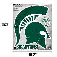 Msu Spartan Helmet Wall Decal Nudge Printing