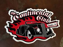 Black Dahlia Die Cut Sticker The Continental Club