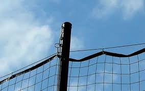 Diy Sports Barrier Net For Backyard Backyard Sports Backyard Diy Backyard