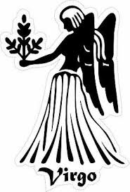Sticker Decal Zodiac Astrological Astrology Sign Car Vinyl Maiden Virgo Ebay