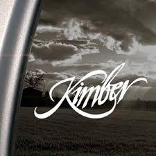 Kimber Decal Truck Bumper Window Vinyl Sticker Fs 2 99 Free S H Over 25 Gun Deals