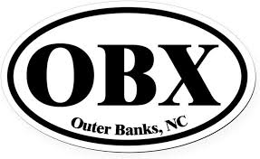 Amazon Com Cafepress Outer Banks Obx Euro Oval Oval Car Magnet Euro Oval Magnetic Bumper Sticker Automotive