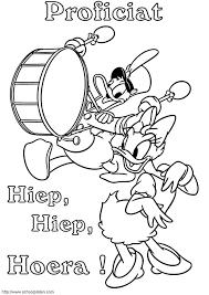 Kids N Fun Kleurplaat Donald Duck Donald En Katrien Vieren