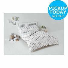 home bedding double argos home blue