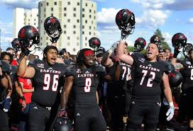 Aaron Neary and EWU Eagles after victory over Sam Houston | Sam ...
