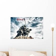 Marine Corps War Memorial Wall Decal Wallmonkeys Com