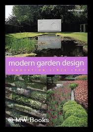 modern garden design innovation since