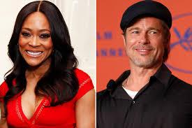 Robin Givens Denies Having an Affair with Brad Pitt   PEOPLE.com