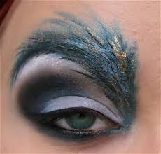 feather makeup images on favim