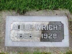 Addie Wright (1858-1928) - Find A Grave Memorial