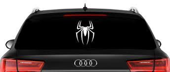 Spiderman Logo Inspired Window Car Decal Marvel Character Inspired Car Decal Ebay Car Decals Car Car Window