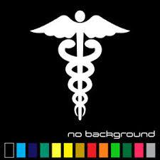 Caduceus Symbol Sticker Vinyl Decal Emt Medical Life Paramedic Car Ambulance Ems Ebay