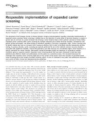 expanded carrier screening