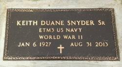"Keith Duane ""Kip"" Snyder (1927-2013) - Find A Grave Memorial"