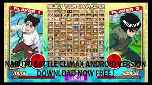 Naruto Senki Mugen Battle Climax 1.0 2018 APK - YouTube