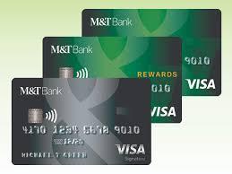 credit card options banking m t bank