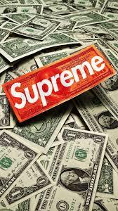 iphone 6 supreme money wallpapers