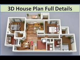 3d house plan 3d house plan design