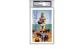 Pop Gates Autographed 1992 Center Court Card #6 Globetrotters To Bruce -  PSA/DNA Certified at Amazon's Sports Collectibles Store