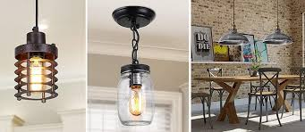 farmhouse pendant lights rustic