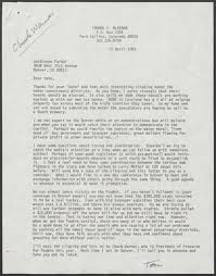 Letter from Thomas P. McKenna to Kathleene Parker, April 12, 1983 |  Alexander Street, a ProQuest Company