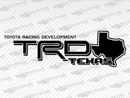 Toyota Trd Texas Stickers Decals