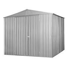 2 99 x 2 99 x 2 19m zinc garden shed