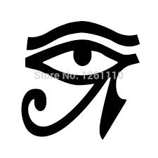 Eye Of Horus Vinyl Sticker Decal Window Egypt Pagan Wiccan Egyptian Window Van Bike 12 5x12 5cm Stickers Aliexpress