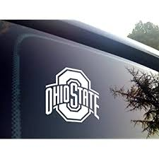 Amazon Com Tdt Printing Custom Decals Ohio State Buckeyes Vinyl Decal Sticker For Car Or Truck Windows Laptops Etc Automotive