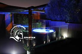 Buy Online Spartan Spigot For Illuminated Glass Pool Fencing Includes Cover Plate Demak
