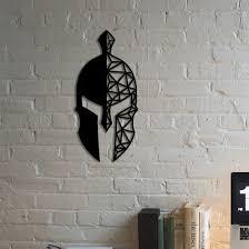 Decorotika Spartan Helmet Metal Wall Decor Wayfair