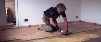 installing wood flooring over vinyl