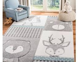 Nursery Deer Rug Etsy