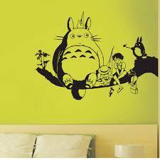 Best Sale 3ff0 Totoro Wall Decal Vinyl Wall Stickers Decal Decor Home Decorative Decoration Anime Totoro Car Sticker Jo Whatsappstatus Co