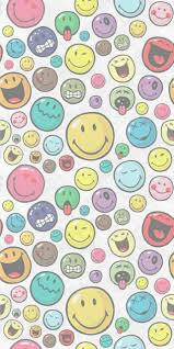 iphone smiles smiley faces wallpaper