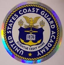 Window Bumper Sticker Military U S Coast Guard Uscg Academy New Decal 883714125807 Ebay