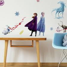 Roommates Frozen 2 Peel Stick 21 Wall Decal Girls Room Elsa Anna Olaf Stickers 34878872926 Ebay