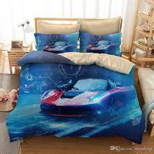 3d bedding set queen size sports car