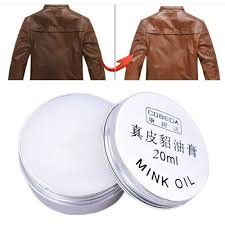 new leather craft pure mink oil cream