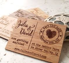 save the date magnets rustic wedding