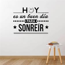 Large Spanish Quotes Wall Decal Sticker For Kids Room Vinyl Decals Room Wall Stickers Decor On The Wall Wallpaper Stickers Wall Stickers Aliexpress
