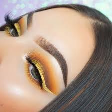 cool yellow eye makeup milas net