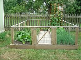 Enclosed Garden Garden Fencing Outdoor Gardens Veggie Garden