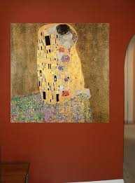Klimt The Kiss 1907 Wall Decal