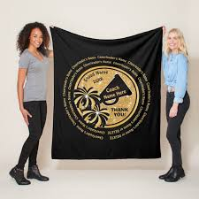 black gold cheerleading coach gifts