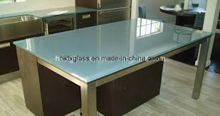 china scratch proof glass table top