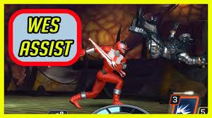 Power rangers legacy wars wesley collins assist gameplay - YouTube