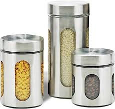 com air tight kitchen canister
