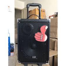 Loa bluetooth karaoke xách tay Kingwe Q8 tặng 1 mic ko dây ...